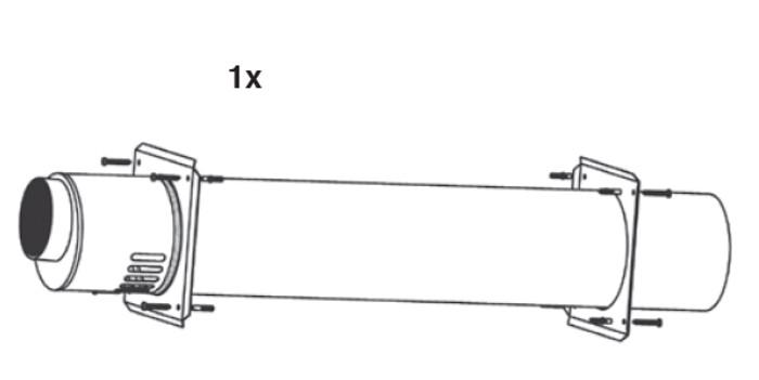 Riello Tau Unit - ventouse mural - D 110/160