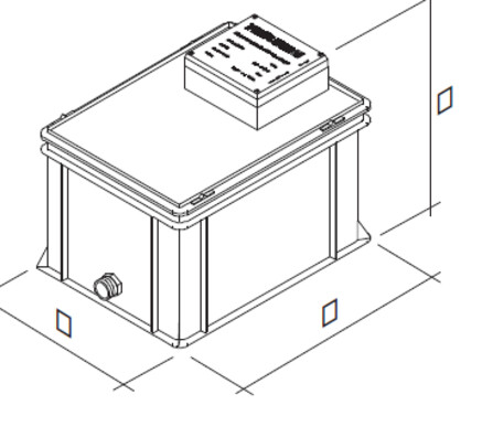 Riello - Tau Unit - neutralisatie-eenheid condenswater
