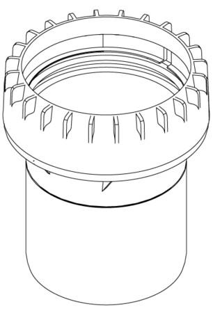 Riello - Tau Unit - fumisterie - D80 - raccord