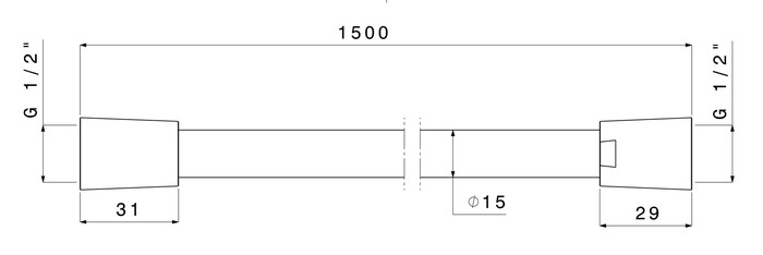 VM NERO DCHSL.PVC 150 BR NK