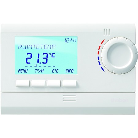 Thermostaten met klokprogramma