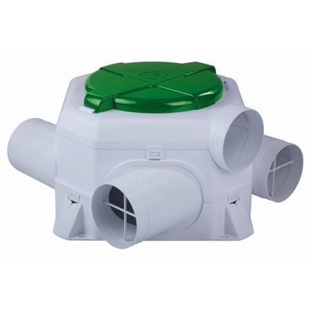 Centrale ventilatie: Systeem C