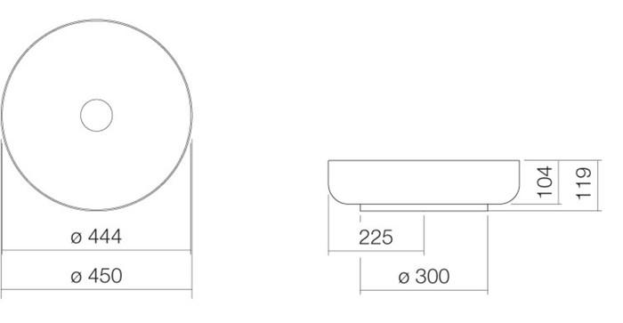 ALA AB.SO450.1 AUFS.D45 W/SW.M