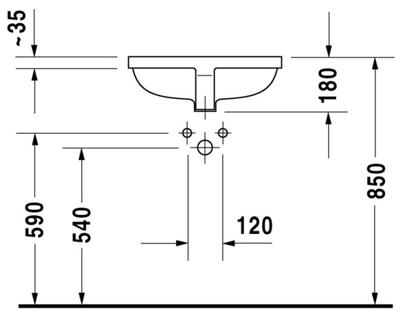 DRVT 030549 STARCK 3 EINB.WT49