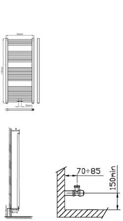 INTR BASIC 120/050 - BLANC