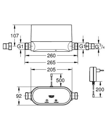 GRH 22500LN0 SENSE GUARD 230V