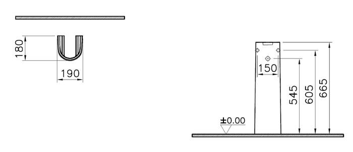 INTR STAR+ ZUIL V.WAS 50/60CM