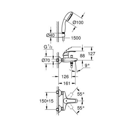 GRH 3330220A EUROSM.B/D KPL CH