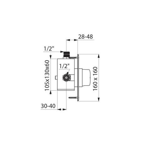 DEL 790425 TEMPMX DSH EB M3/4