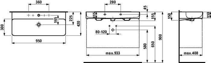 LAU 810287 VAL LAV.À POS.95X4