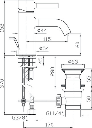 ZUC ZP6211 PAN MIT.LAV.VID.CH