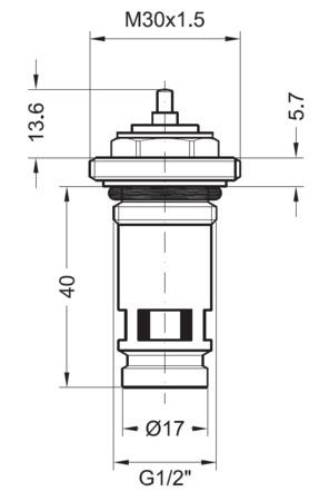 INTR INSERT SCHNULLER M30X1,5