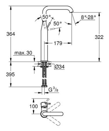 GRH 32901001 ESSENCE WASCHT XL