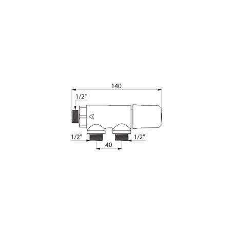 DEL TS 733015 PREMIX THERM.1/2