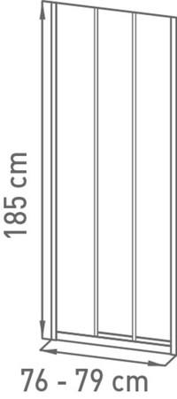 VMG AVIS  SCHT 80X185 STR CHR