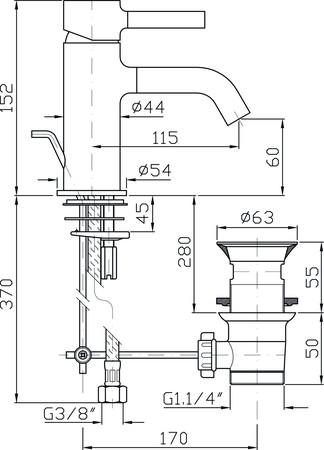 ZUC ZP6211.N1 PAN M.LAV.VID.NO