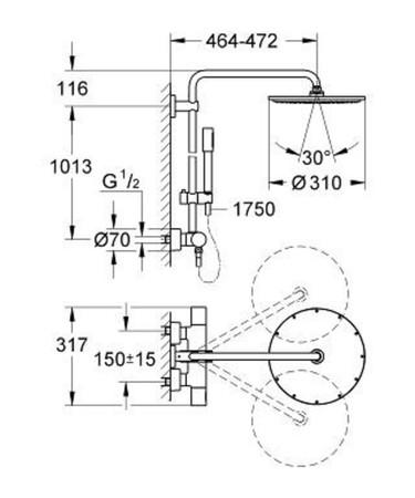 GRH 27966 RAINSHOWER SYST.310
