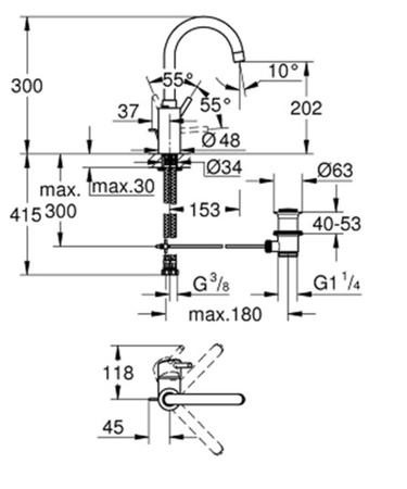 GRH 32629002 CON.WT C-AUSL.CH