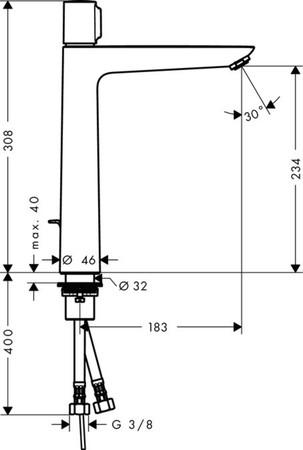 HGR 71752 TAL.SEL.E WT M/LE.C