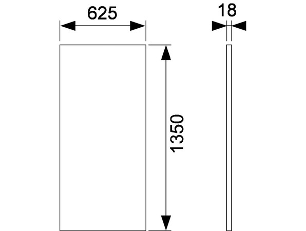 TECEPROFIL ABD.SET GYPROC 18MM
