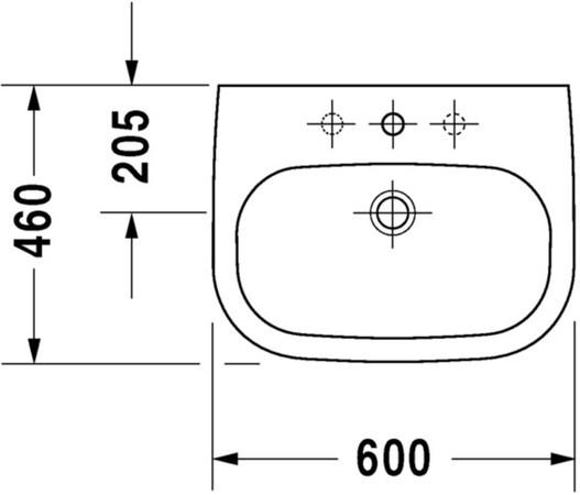 DRVT 231060 D-CODE WT 60X46
