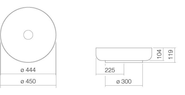 ALA AB.SO450.1 AUFS.D45 DRK IR