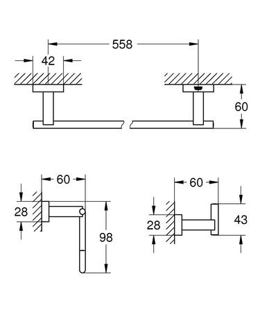 GRH 40777 ESS.CUB.BN ST 3-EN-1
