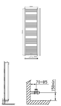 INTR BASIC 180/060 - BLANC