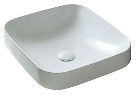 Van Marcke Collection - Java Design - lavabo semi-encastré - carré - avec crépine
