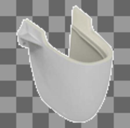 Ideal Standard - Simplicity - cache-siphon pour lavabo