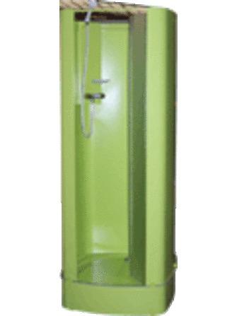Intersan - Isitub - cabine de douche - avec portes