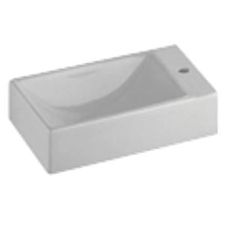 Sphinx - 420 - handwasbakje - met kraangat rechts