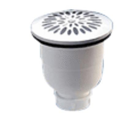 Nicoll - verticale doucheplug D90/inox rooster