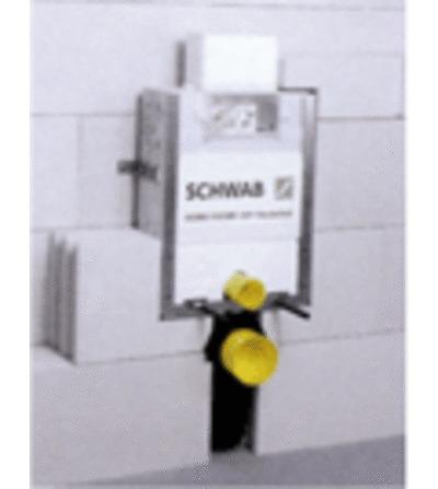 Schwab - inbouwelement - kleine duwplaat