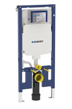 Geberit - Duofix - élément à encastrer pour WC - 114 cm - Sigma 8 cm