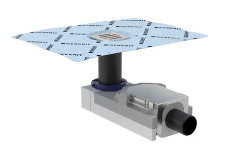 Geberit - Uniflex - vloerputje voor betegelde douche