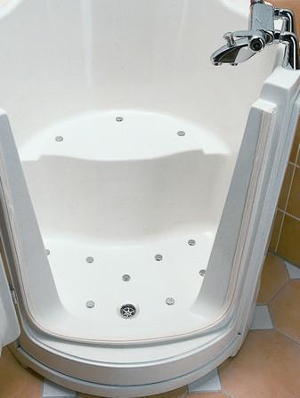 Vita Activa - Ibiza - baignoire à siège - wandmodel