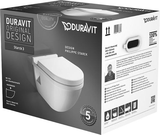 DRVT 420009 STARCK 3 WC PACK