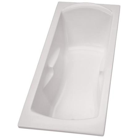 Porcher - Ulysse - baignoire à encastrer - avec accoudoirs intégrés
