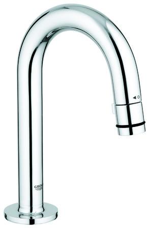 Grohe - robinet lave-mains - bec C courbé