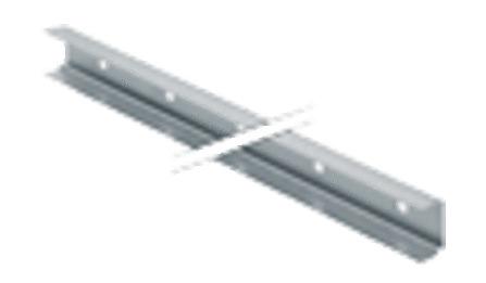 Geberit - Duofix - profilés - 2 longueurs de 3 m