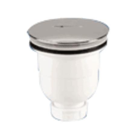 Nicoll - verticale doucheplug D90/ABS chroom deksel