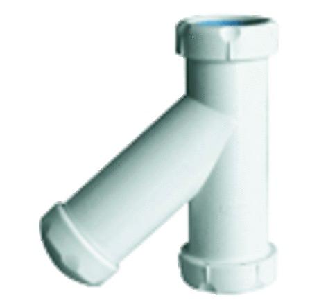 Nicoll - Siphon vertical pour tubes lisses