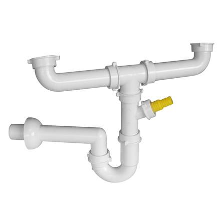 Van Marcke Pro - siphon pour 2 bassins