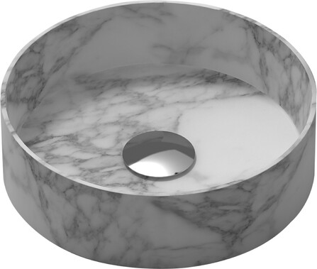 Van Marcke Collection - Java Marble - lavabo à poser - rond