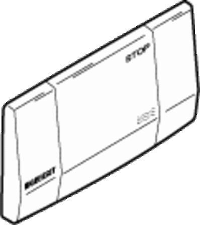 GEB 115151 FRONTPLAAT INOX
