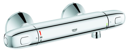 Grohe - Grohtherm - douchethermostaat - asafstand 15 cm