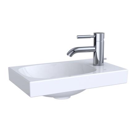 Geberit - Acanto - handwasbakje - met kraangat rechts