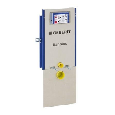 Geberit - Sanbloc - élément à encastrer pour WC - commande frontale